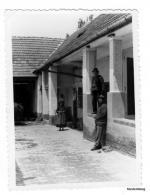 1960. g. - dvorište Ive Šarića