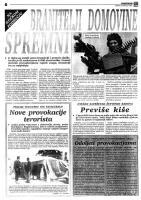 članak Nove provokacije terorista