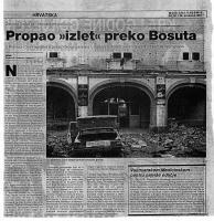 "članak Propao ""izlet"" preko Bosuta"